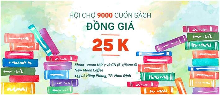 Hội chợ sách lần đầu tiên tại Nam Định