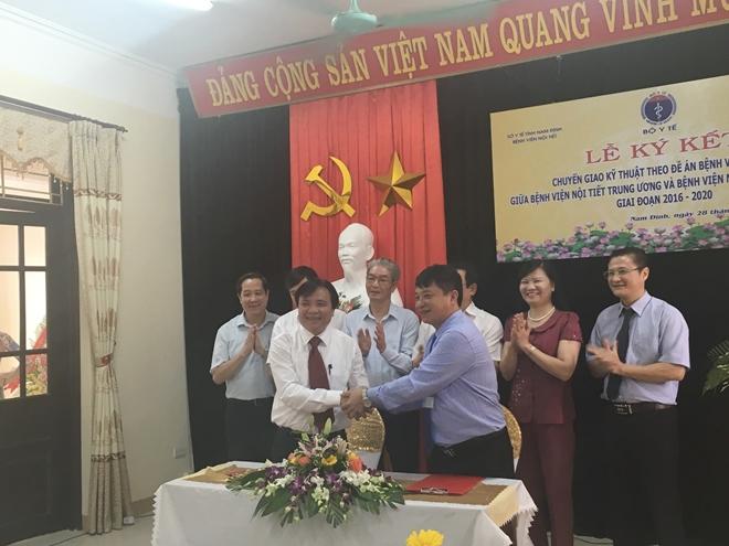 Bệnh viện Nội tiết Nam Định tiếp nhận 50 kỹ thuật chẩn đoán và điều trị