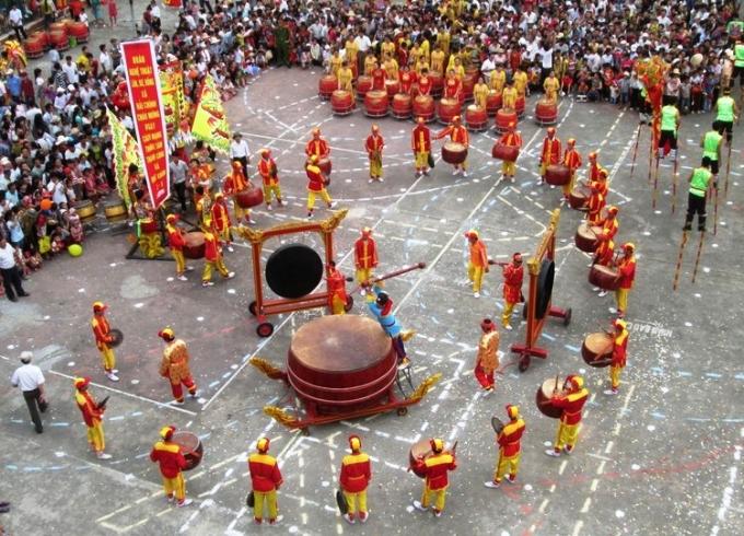 Một trong những màn trình diễn đậm chất truyền thống.