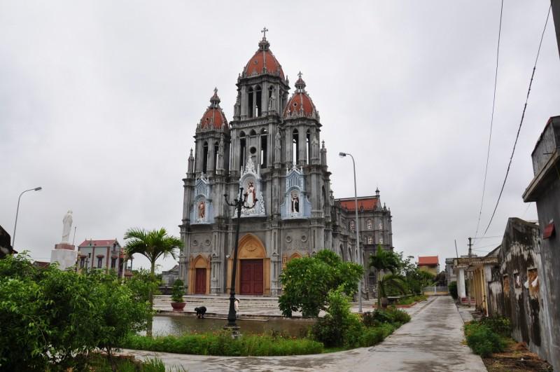 Nhà thờ Giáo xứ Cát Xuyên – Xuân Trường Nam Định