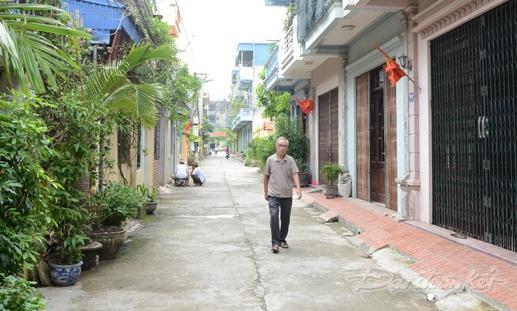 Tổ dân phố số 5, KDC Trần Bích San khang trang, sạch đẹp.