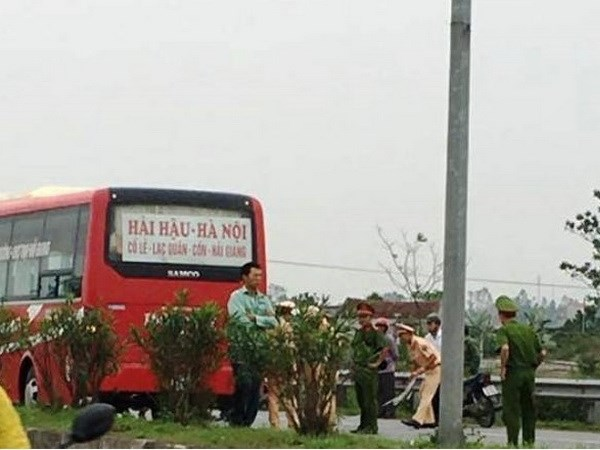 Hiện trường xảy ra vụ tai nạn. (Nguồn: Otofun)