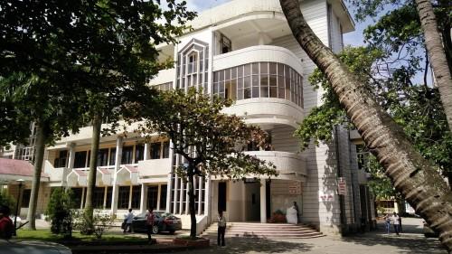Khoa ngoại tổng hợp nằm ở tầng 2 của nhà 07