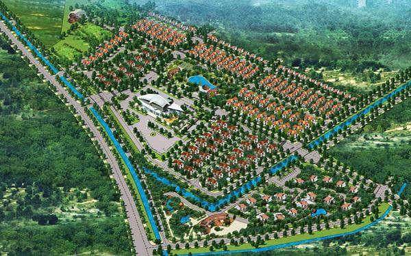 Phối cảnh dự án Trung tâm Thương mại và Du lịch Quốc tế Đồng bằng sông Hồng
