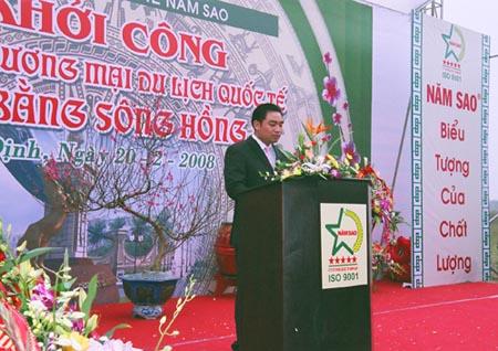 Ông Trần Văn Mười - Chủ tịch HĐQT kiêm Tổng giám đốc Tập đoàn Năm Sao