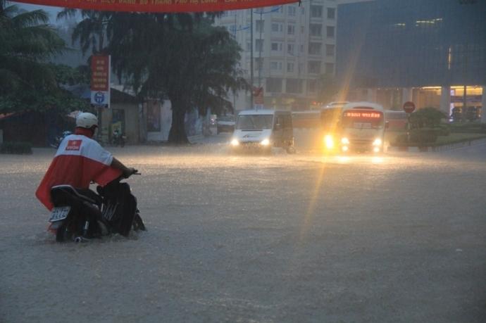 Nam Định khẩn cấp chống bão số 7 Sarika
