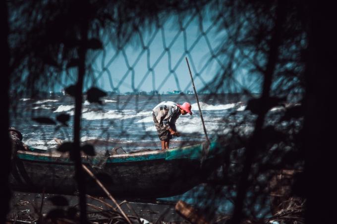 Nhưng đây là loại ngư cụ quan trọng để người dân nơi đây đánh bắt hải sản.