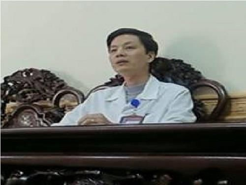 Ông Hoàng Ngọc Hà, Trưởng phòng Kế hoạch Tổng hợp Bệnh viện Đa khoa Nam Định