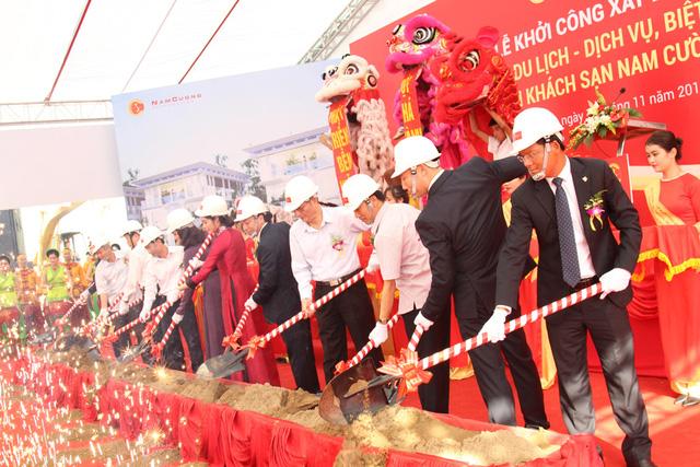 Khu biệt thự đẳng cấp quốc tế đầu tiên tại Nam Định được khởi công