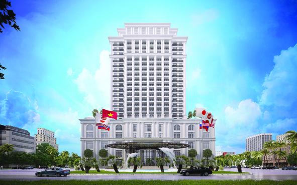 Phối cảnh Khánh sạn Nam Cường Nam Định