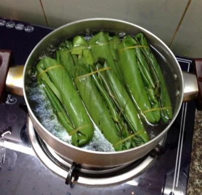 Đặc sản giò nóng 7 phút Nam Định