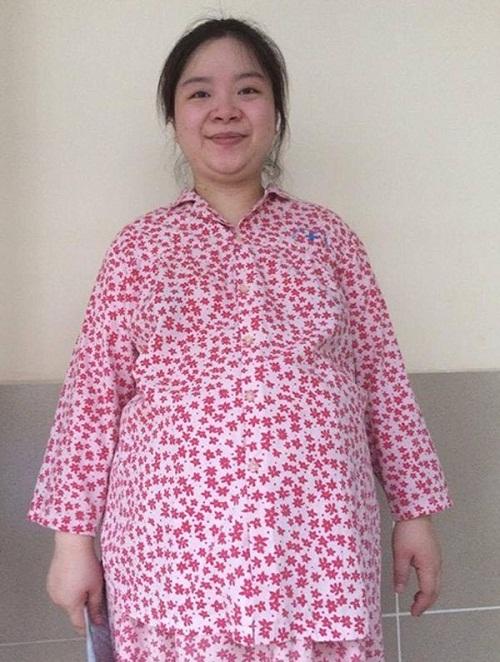 Thân hình gần 100kg của chị Thanh