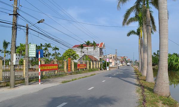 Nam Định: Phấn đấu năm 2020 đạt chuẩn tỉnh nông thôn mới