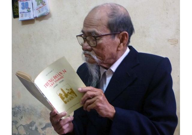 Ông Tạ Quang Tám hồi tưởng những ngày chiến đấu kiên cường cuối năm 1946 tại TP Nam Định