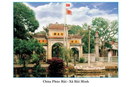 Hải Hậu: Chùa Phúc Hải – Hải Minh