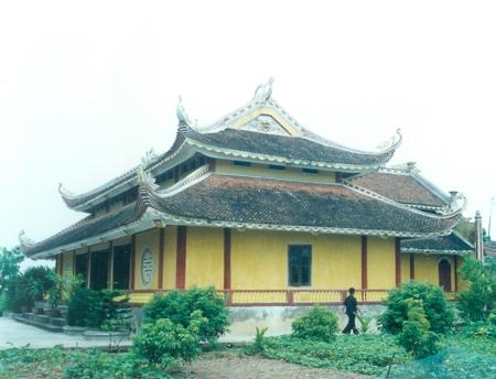 Kiến trúc chùa Hà Cát