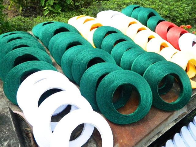 """Những năm 1960 làng nghề khăn xếp tưởng chừng như """"tan rã"""". Nhưng đến đầu năm 1990 làng khăn xếp bắt đầu quá trình hưng thịnh"""