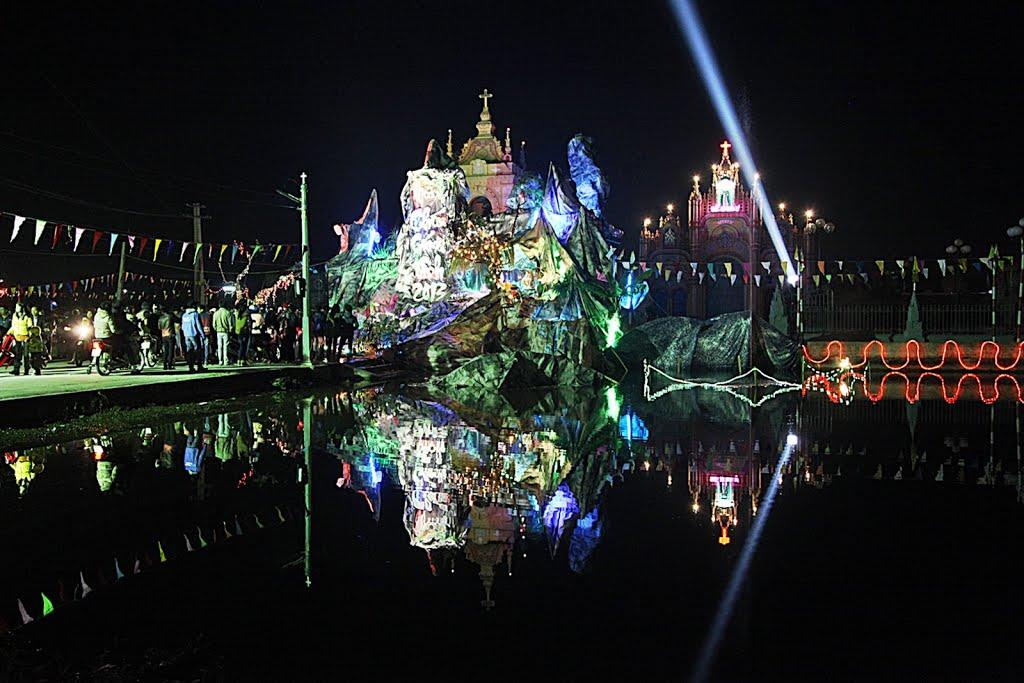 Noen tại Đền Thánh Kiên Lao