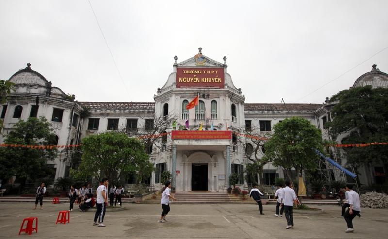 Trường THPT Nguyễn Khuyến - Nam Định