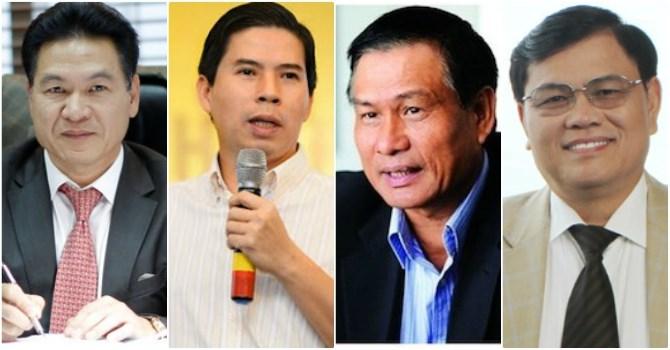 4 doanh nhân Nam Định tiêu biểu trong bảng xếp hạng người giàu nhất Việt Nam.