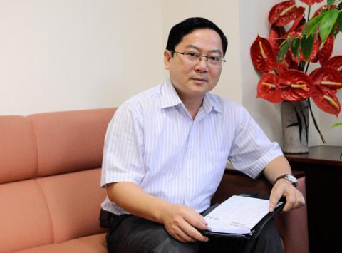 Ông Lê Xuân Sơn- Trưởng BTC Hoa hậu Việt Nam 2014.