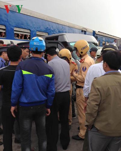 Cảnh sát lập tức có mặt tại hiện trường