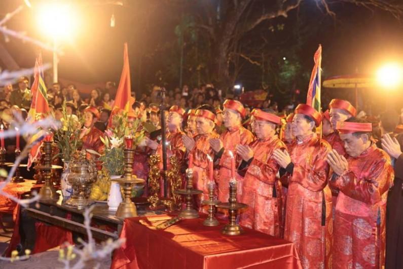 Lễ hội Đền Trần sẽ khai hội vào ngày 7-2 (tức ngày 11 tháng Giêng) - ảnh minh họa.