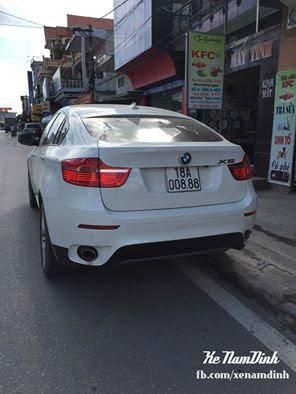 BMW X6 có giá khoảng 2 tỷ đồng mang biển số đẹp Nam Định tam hoa 8