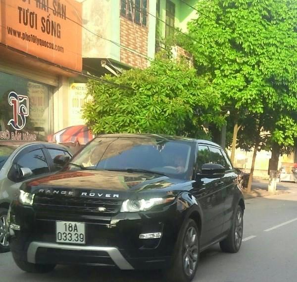 """Xe Range rover khá được ưa chuộng tại Nam Định, chiếc xe 3 tỷ đồng này mang biển """"tài cửu"""""""