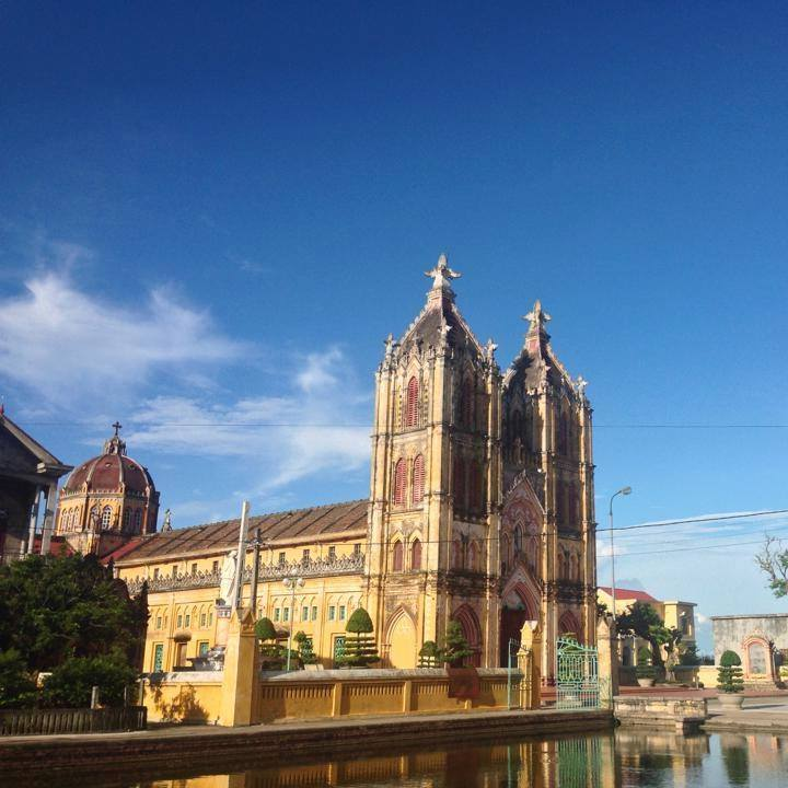 Nhà thờ Giáo xứ Lục Thủy – Xuân Trường Nam Định
