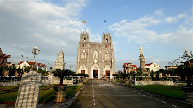[Photo] Kiến trúc độc đáo của nhà thờ Phú Nhai lớn nhất nhì miền Bắc
