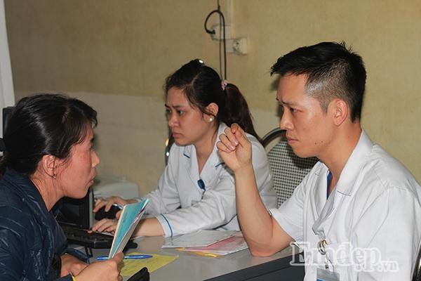 Mỗi một ngày Trung tâm sức khỏe sinh sản khám 80-100 lượt bệnh nhân vô sinh hiếm muộn. Các ca tới đây khám thường là ca nặng và nhiều ca bệnh đã nhiều tuổi.