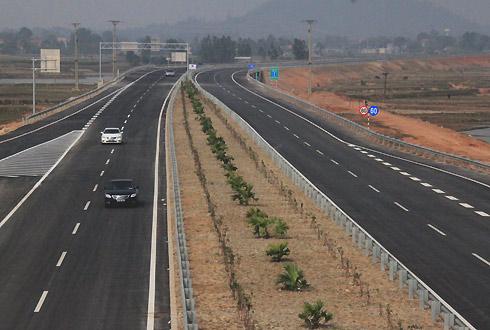 Tuyến cao tốc Ninh Bình - Nam Định sẽ nối với cao tốc Bắc Nam. Ảnh minh họa: Đ.Loan