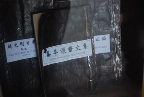 Một số tác phẩm của cụ Đặng Xuân Viện.