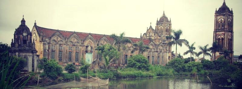 Nhà thờ Giáo xứ Liên Thủy – Xuân Trường Nam Định