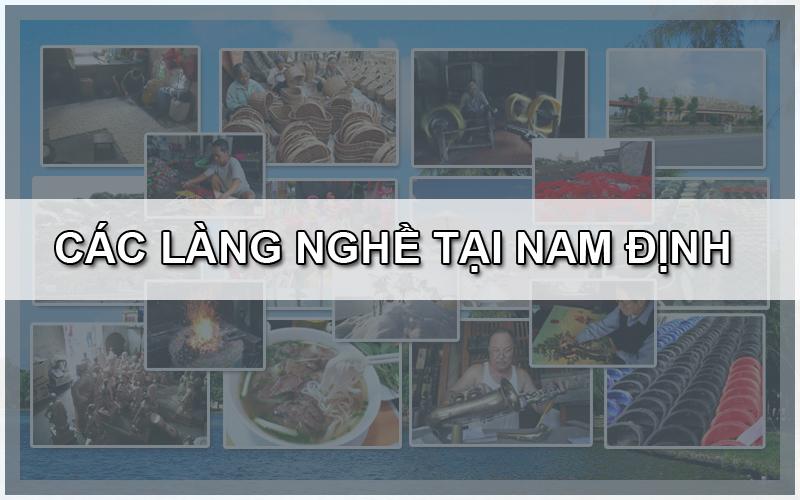 Các làng nghề ở Nam Định
