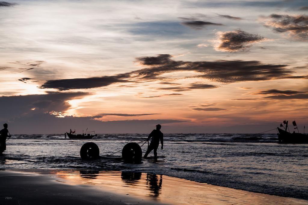 Ở Nam Định tôi vừa được hòa mình vào thiên nhiên - Ảnh: Hệ Trân Văn