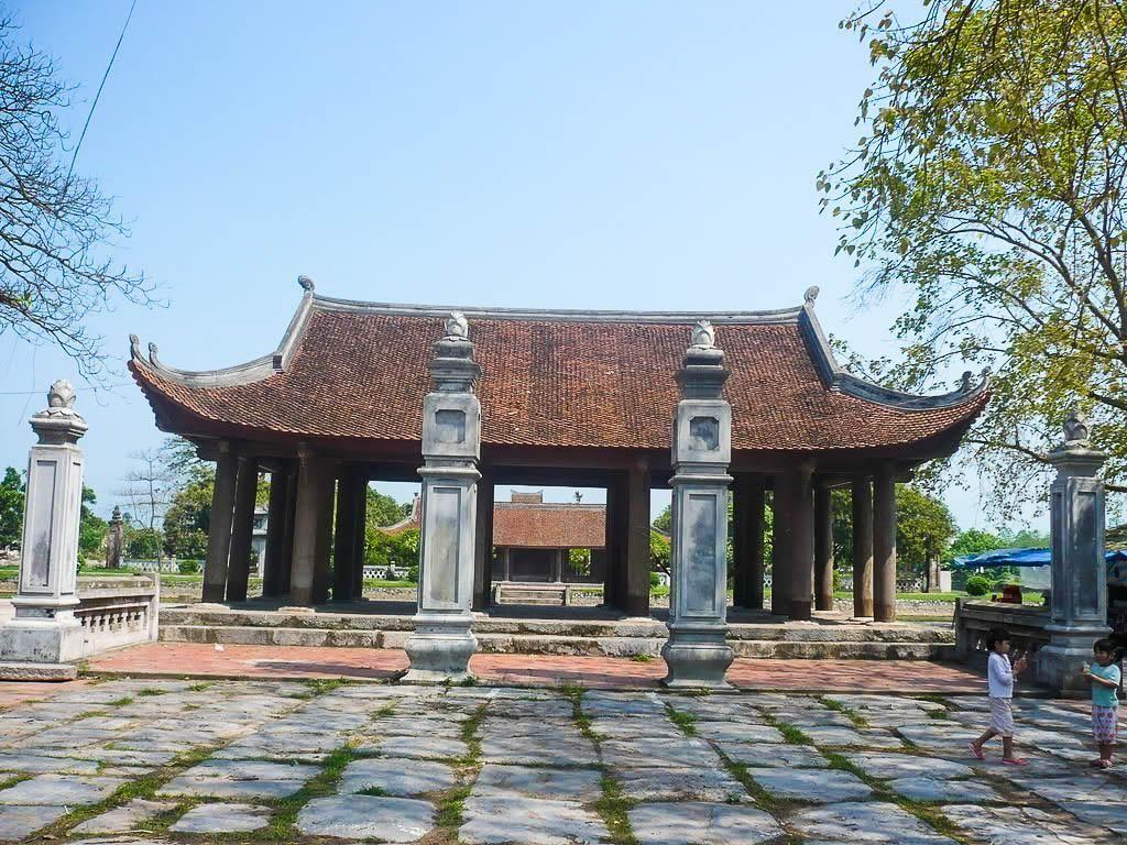 Chùa Keo Hành Thiện là một ngôi chùa cổ ở Việt Nam - Ảnh: vns360