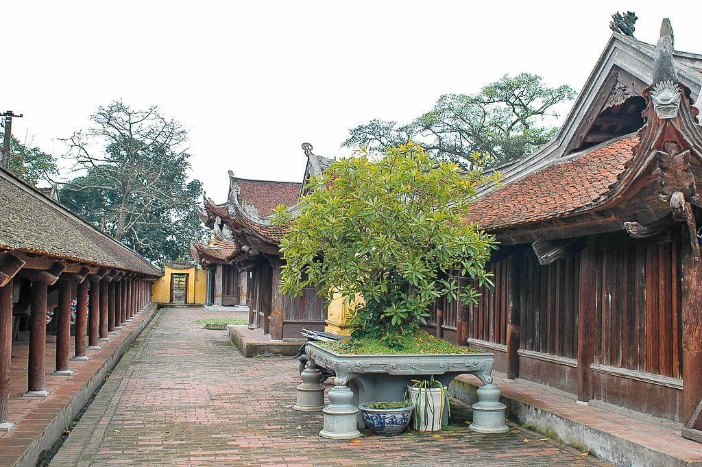 Trần lòng nơi chùa Keo Hành Thiện - Ảnh: Viet Nguyen