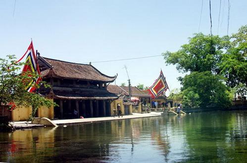 Gác chuông chùa Thần Quang