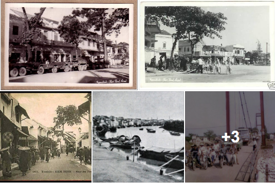 Các khu phố cổ Nam Định xưa