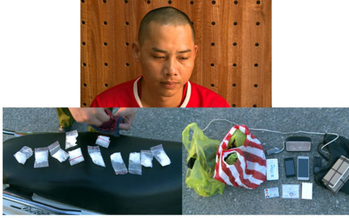 Nam Định: Bắt đối tượng vận chuyển trái phép chất ma túy