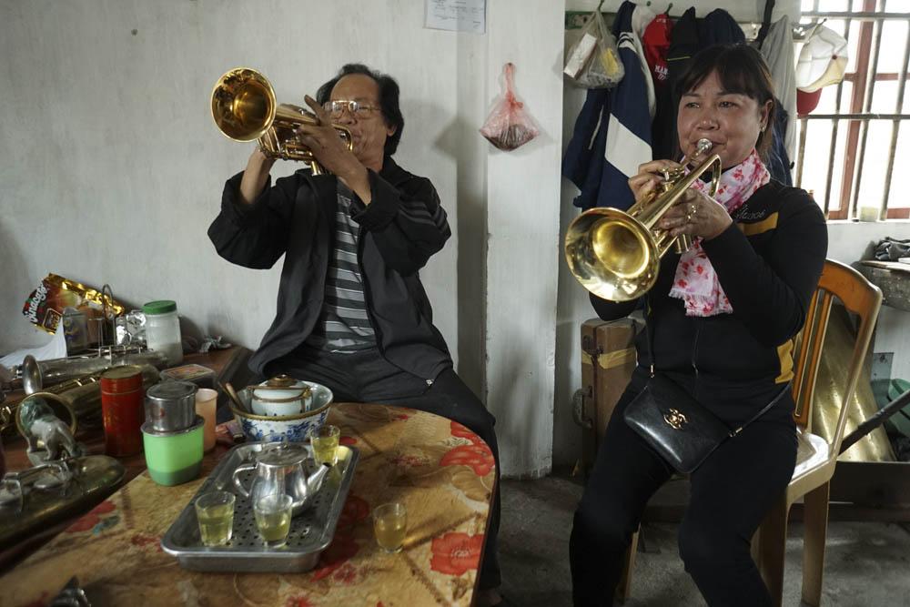 """""""Phù thủy"""" kèn đồng Nam Định"""