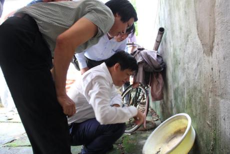 Nam Định hơn 2000 bệnh nhân SXH, Thứ trưởng Bộ Y tế xuống kiểm tra