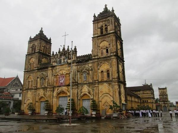 Nam Định thuộc Top những nhà thờ đẹp nhất Việt Nam