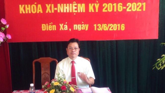 Bắt nguyên Bí thư Đảng ủy xã sai phạm về đất đai