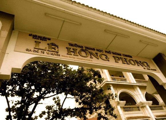 Chuyên Lê Hồng Phong – niềm tự hào của học trò Nam Định