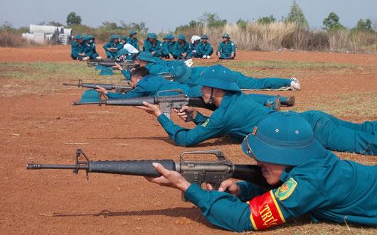 Nam Định xây dựng tiềm lực quốc phòng vững mạnh