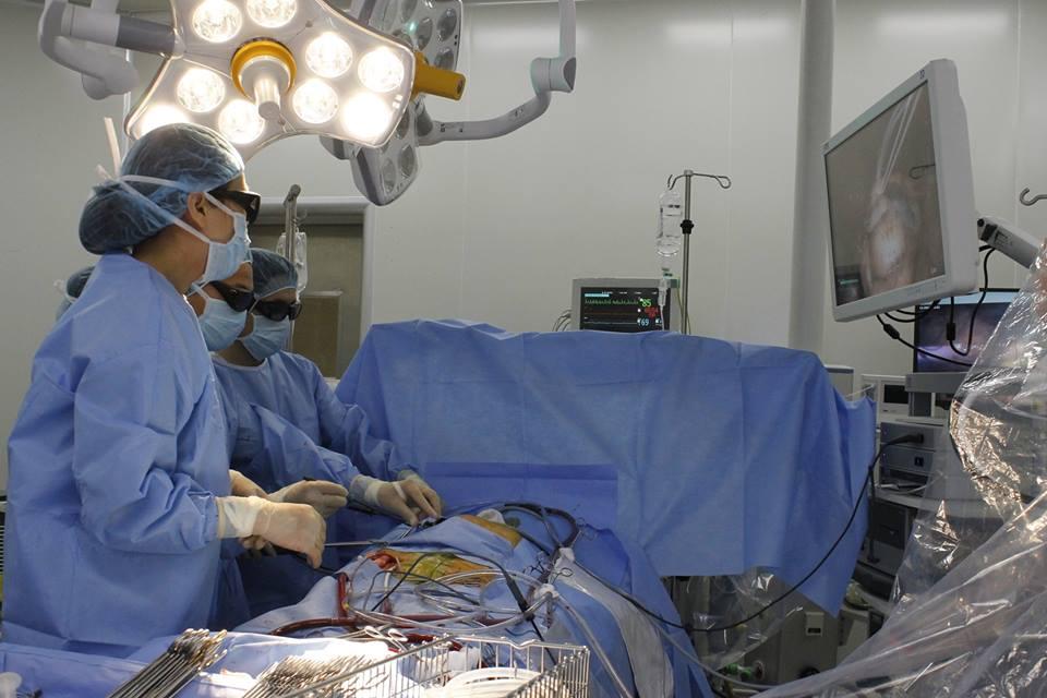 Lần đầu tiên ứng dụng công nghệ 3D trong phẫu thuật tim mạch