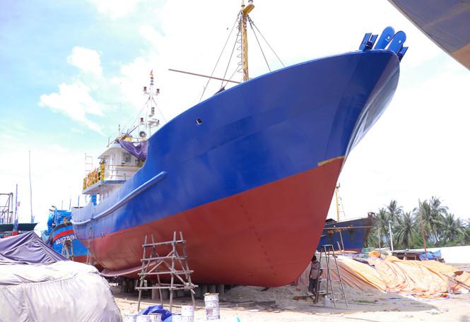 Công ty đóng tàu vỏ thép 'dỏm' không chấp nhận bồi thường cho ngư dân